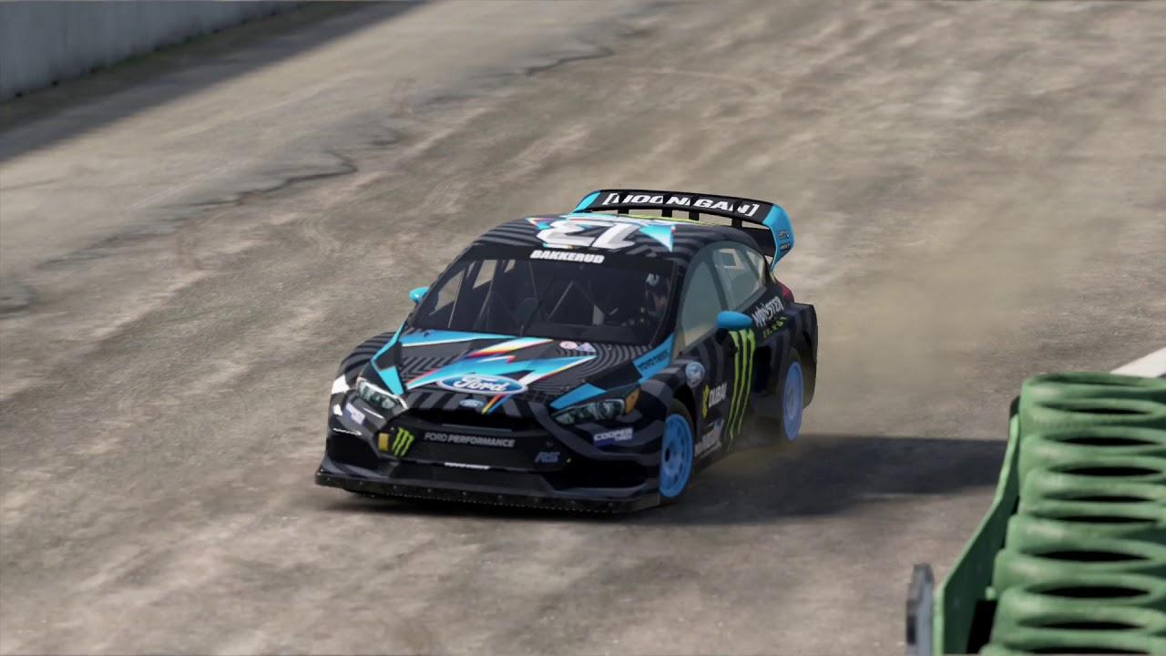 Project Cars 2 Ford Focus Rs Rx Drifting Hockenheim Youtube