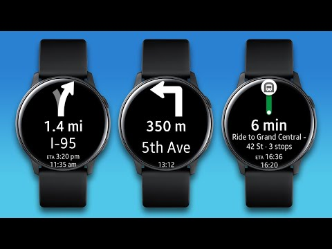 Navigation Pro: Google Maps Navi on Samsung Watch - Apps on Google Play
