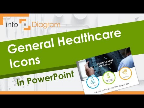 Medical PowerPoint Template - General Healthcare Icons In PPT
