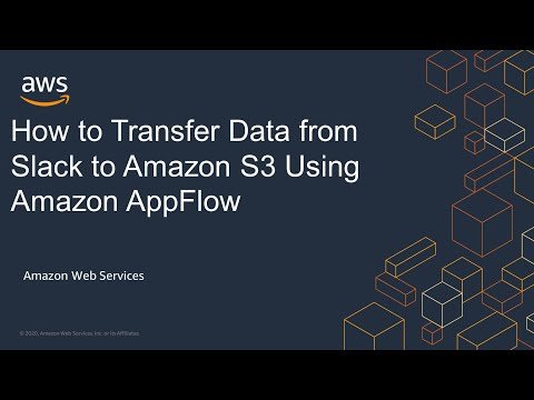 How to Transfer Data from Slack to Amazon S3 Using Amazon AppFlow