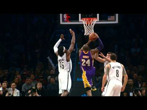 Kobe Bryant's HUGE Facial in Brooklyn