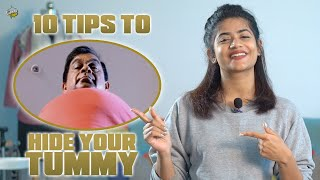 10 Tips To Hide Your Tummy | For MEN | Kiraak Style | Chai Bisket