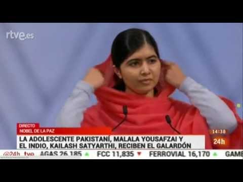 Premio Nobel de la Paz 2014 - Ceremonia de entrega - Malala y Satyarthi - 2014 Nobel Peace Prize