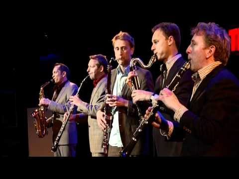 TEDxAmsterdam - Alban Wesly and Calefax Quintet - 11/30/10