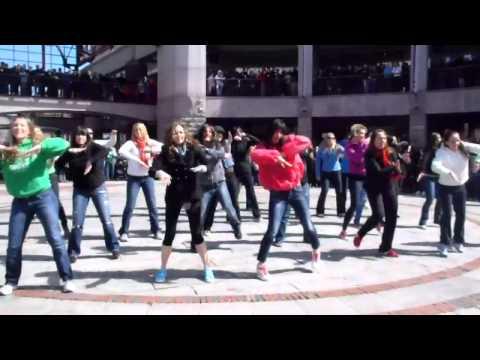 Flash mob at Faneuil Hall