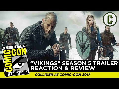 Vikings Season 5 Trailer Reaction and Review - SDCC 2017