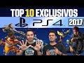 🏆 Top 10 Jogos Exclusivos de PS4 (lançados até 2017)