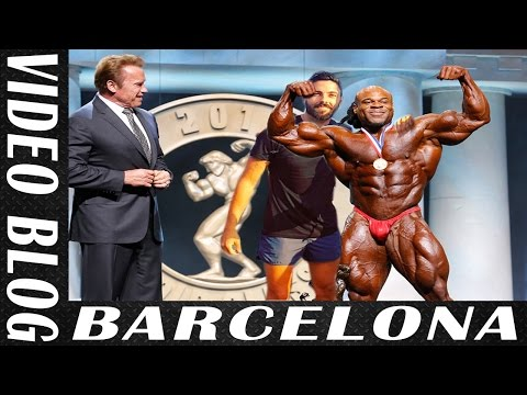 VLOG – Viaje a Barcelona – Arnold Classic y Barceloneta