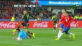 CHILE VS MEXICO 3 -  3 Copa America Chile 2015  15 JUN 2015 Resumen