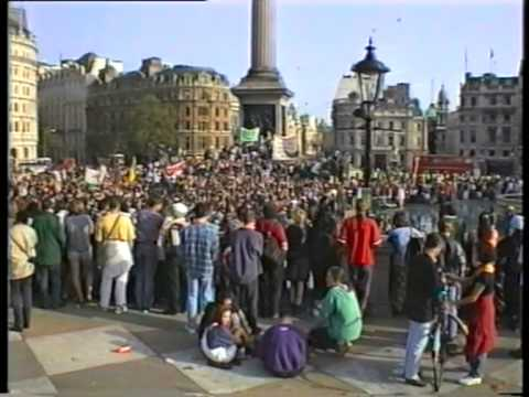 Anti Criminal Justice Bill rally, 1994