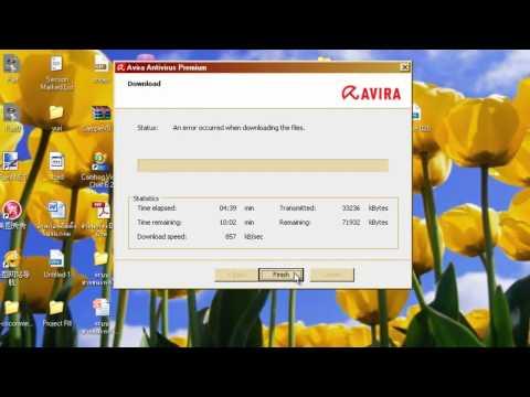 การใช้งาน Antivirus Avira.mp4