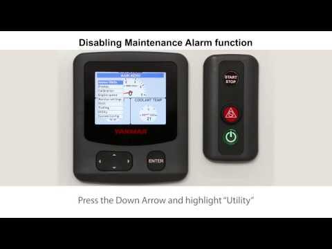 06 Vessel Control System VC10 Reset Maintenance Alarm