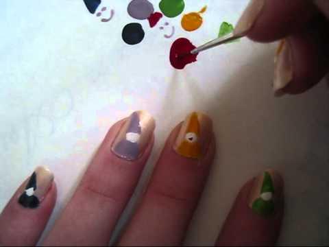 Nail art Gnome