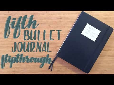 Flip Through | My Fifth Bullet Journal