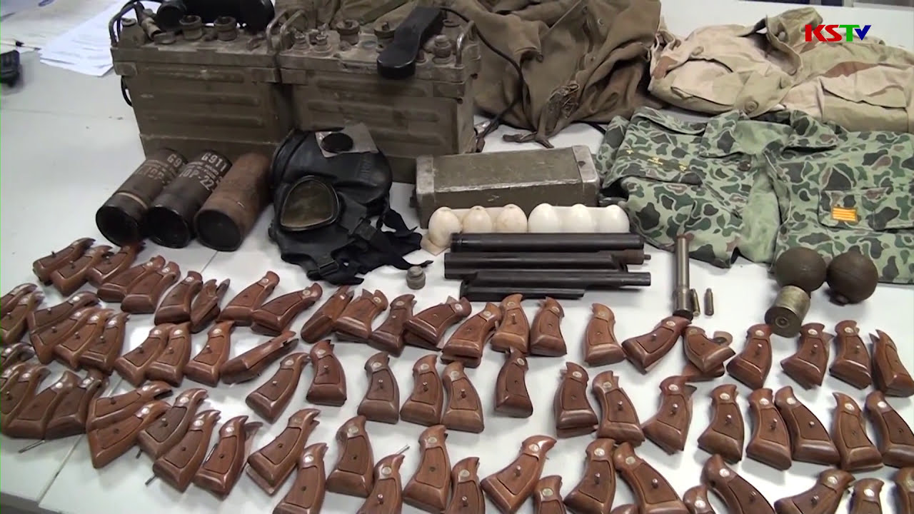 Bắt giữ vụ vận chuyển vũ khí quân dụng trái phép