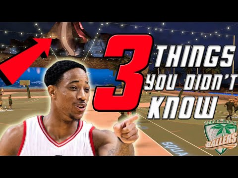 3 THINGS YOU HAD NO IDEA ABOUT IN SUNSET BEACH IN NBA 2K17!