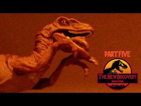 The New Discovery: Jurassic Park (Toy Movie REMAKE) Part 5/6