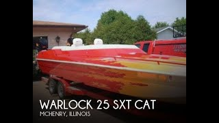 Used 1990 Warlock 25 SXT Cat for sale in Mchenry, Illinois