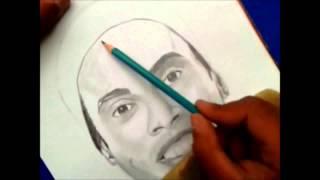 Ronaldinho dibujado