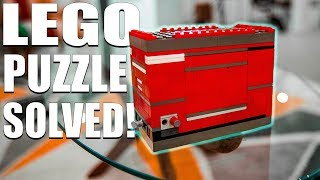 Solving The HARDEST LEGO Puzzle!!