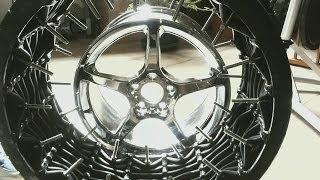 Kinetic Wheel Prototypes ERW @ USDOT Labs