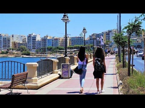 St Julian's & Sliema, Malta (from bus)