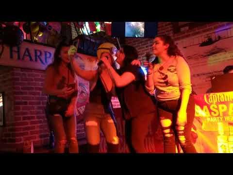 2018-01-25 karaoke, Double Decker bar in Ybor, City of Tampa, FL,