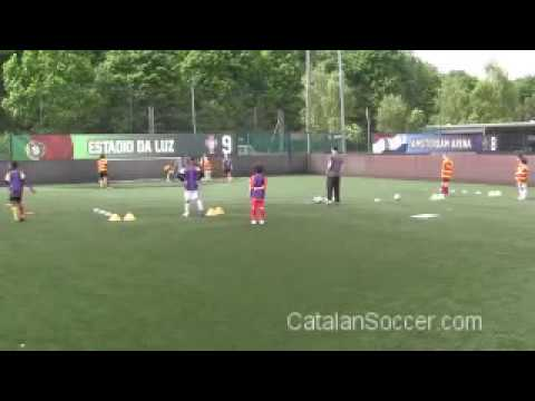 Catalan Soccer School - Support Play Part 1