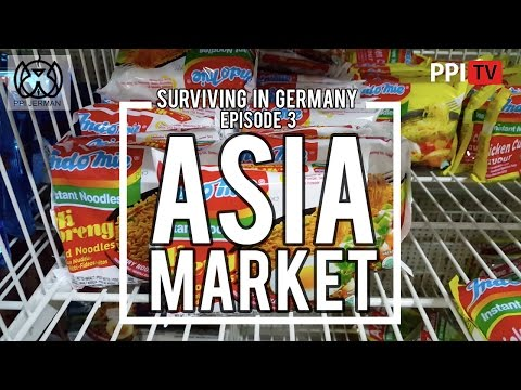 [PPI Jerman] SURVIVING IN GERMANY Eps.3 - ASIA MARKET