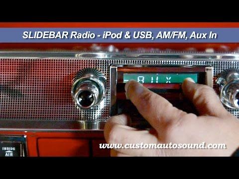 Custom Autosound Slidebar Radios & The System Hidden Subwoofer Video