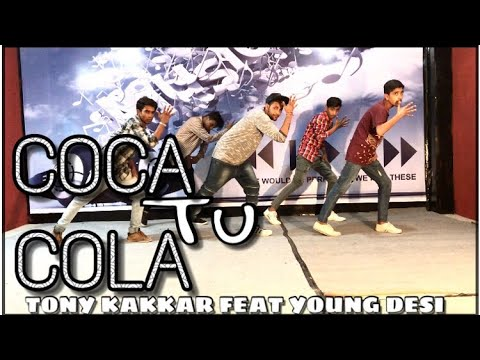 Coca Cola Tu - Tony Kakkar ft. Young Desi | Dance Cover | AD Group Of Dance