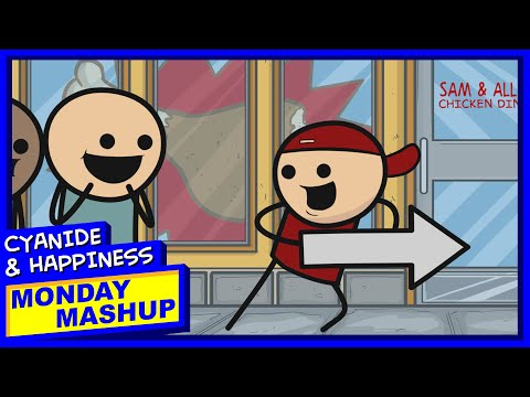 Help! I'm Bad At My Job! | Cyanide & Happiness Monday Mashup