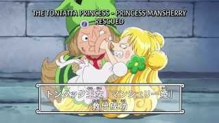One Piece - Leo Saves Princess Mansherry & Defeats Giolla! [HD]