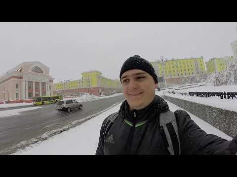 Норильск. 11 Сентября 2019. Снег))