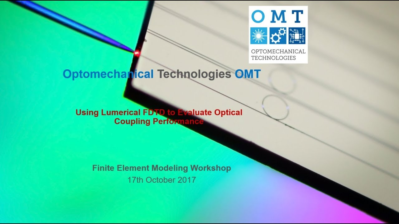 Lumerical simulation tutorial: Coupling Efficiency to a Waveguide