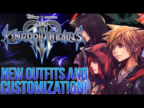 Kingdom Hearts 3 News - New Outfits and Customization