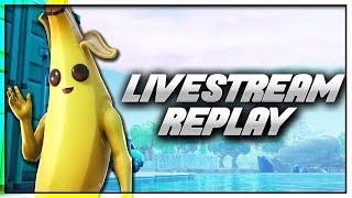 [Livestream Replay] Fortnite Season 8 Live Gameplay // Duos with DooM Trapgod