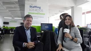 Visita a Staffing de Colombia - Muy pronto la entrevista completa