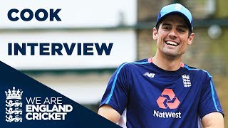 Cook Bids Goodbye To International Cricket | Alastair Cook Interview | #ThankYouChef