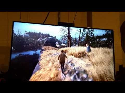 Hisense H8 50in 4k Playing Uncharted 4