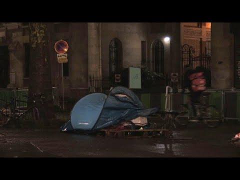 Al menos 3.000 personas viven en la calle en París