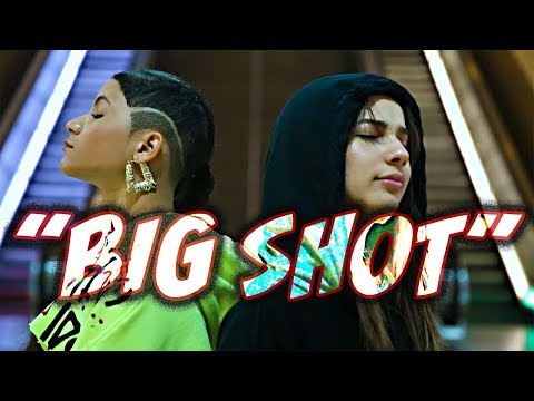 BABY KAELY - BIG SHOT (ft. ANGELIC) 13yr old kid rapper and singer