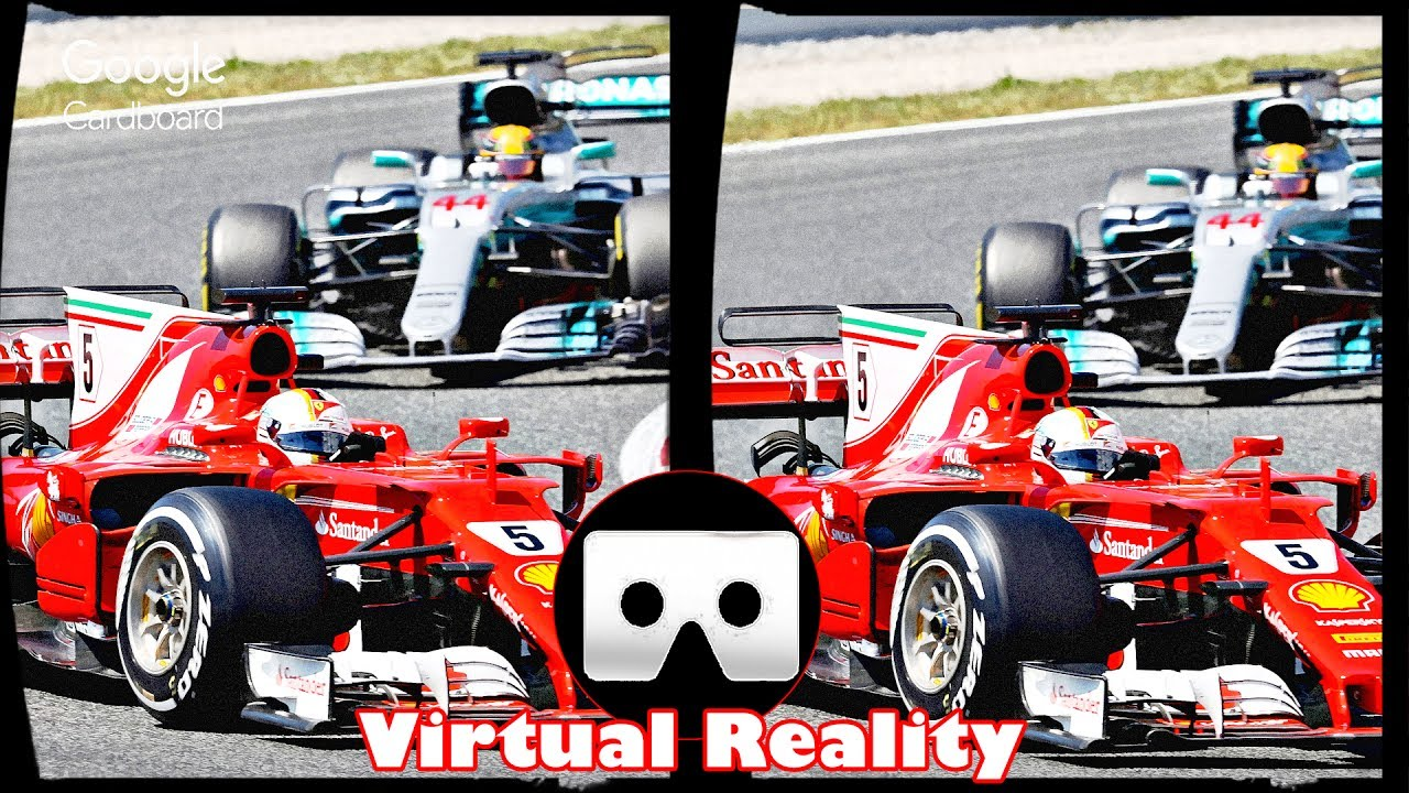 3d Ferrari F1 Vr Virtual Reality Video Google Cardboard Vr Box