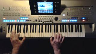 HALLELUJAH-Leonhard Cohen / Alexandra Burke u.a. Instrumental-Cover auf Tyros 4