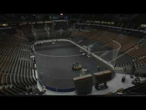 Air Canada Centre Conversion Nhl To Nba Youtube