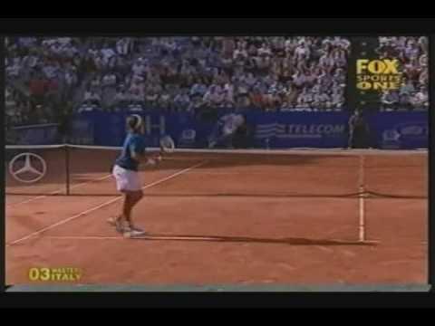 Mantilla vs Federer (2/2)