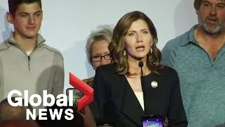 Midterm Elections: Kristi Noem makes history as first female governor of South Dakota