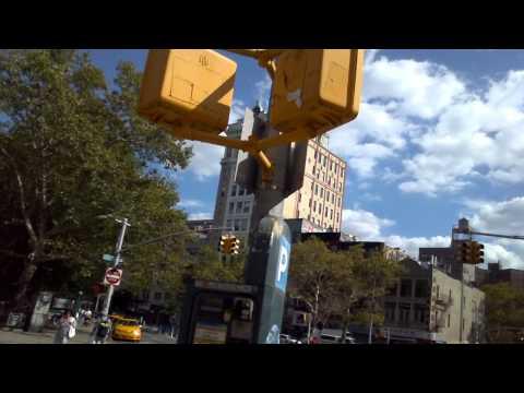 Walk around New York City (Lower East Side) 7 Sept 2014