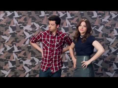 Chloë Grace Moretz and Chris Mintz Plasse Duck Dinasty promo (Kick-Ass2)