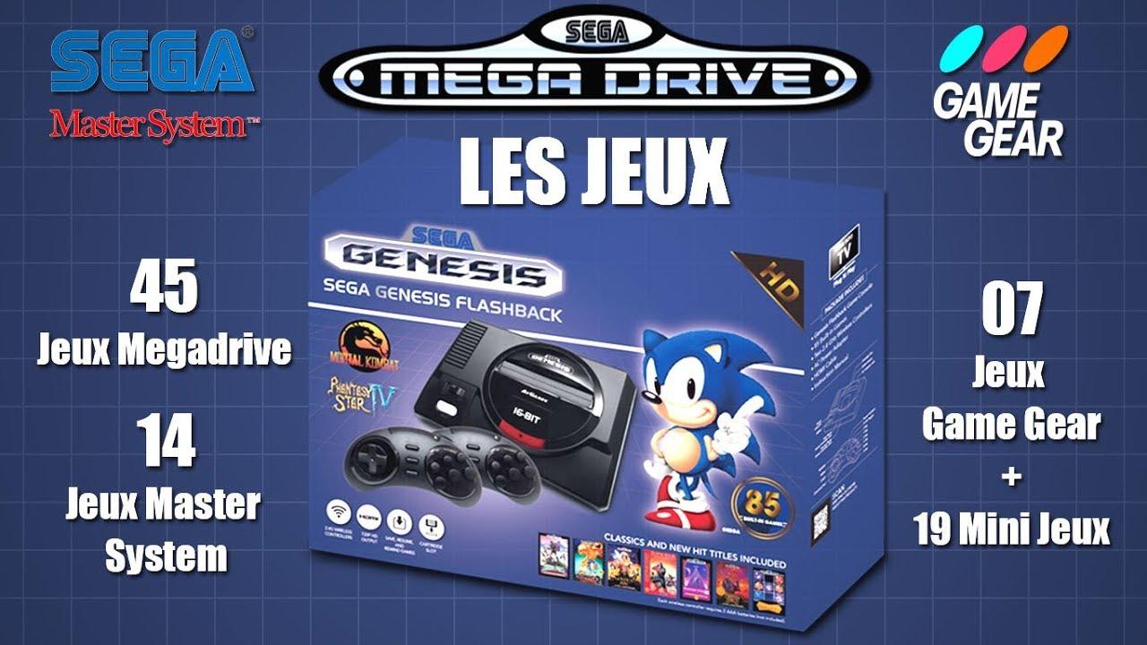 Mini Sega Mega Drive Flashback - Tous les Jeux